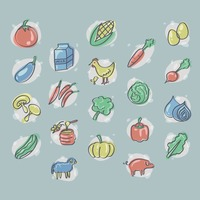 Agricultural icons