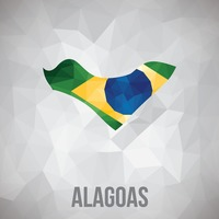 Alagoas state map