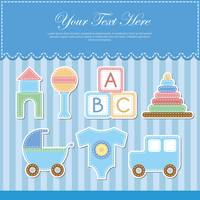 Baby items card