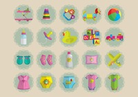 Baby items collection