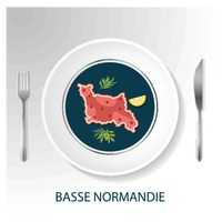Basse normandie map