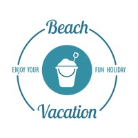 Beach vacation design element