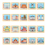 Belgium stamp collection