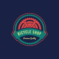 Bicycle shop label