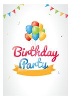 Birthday party design