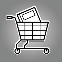 Book with shopping cart