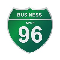 Business spur 96 sign