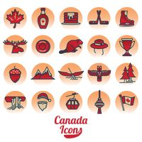Canada icon collection