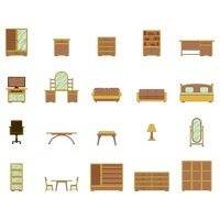 Collection of furniture