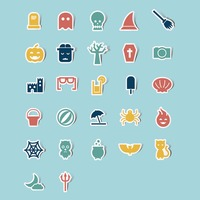 Collection of holiday icons