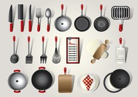 Collection of kitchenware