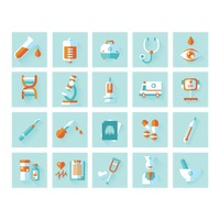collection of medical icons amerassist - Medical Collection Jobs