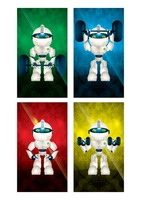 Collection of robot wallpaper for mobile phone