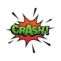 Comic effect crash