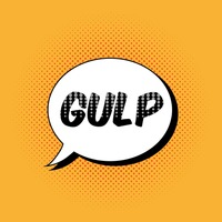 Comic effect gulp