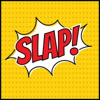 Comic effect slap