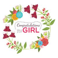 Congratulations its a girl