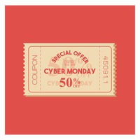 Cyber monday sale coupon