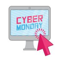 Cyber monday sale on computer