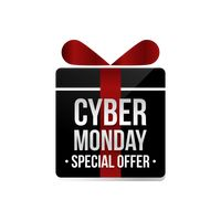 Cyber monday special offer label