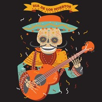 Day of the dead musician