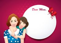 Dear mom card
