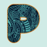 Decorative alphabet p