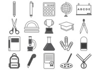 Educational icons collections