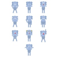 Elephant expressions