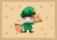 Elf cartoon character
