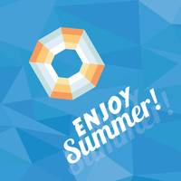 Enjoy summer card