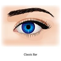 Eye with classic bar