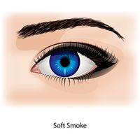 Eye with soft smoke
