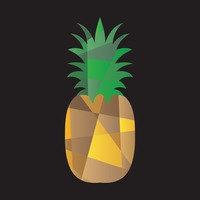 Faceted pineapple