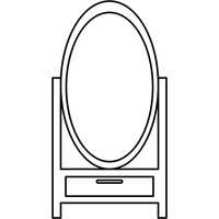 Full length mirror Vector Image - 1374584 | StockUnlimited
