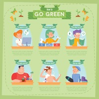 Go green infographic