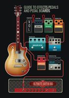 Guide to effects pedals and pedal board
