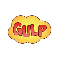 Gulp comic speech bubble