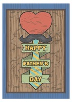 Happy father's day greeting