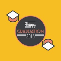 Happy graduation 2015 poster