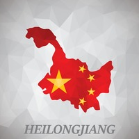 Heilongjiang map