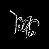 Iced tea text design
