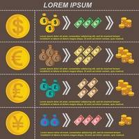 Infographic of finance