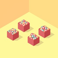 Isometric christmas balls