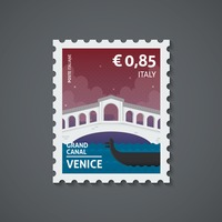 Italy postage stamp