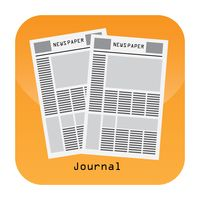 Journal mobile app icon