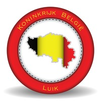 Luik map sticker
