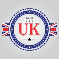 Made in the uk label