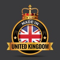 Made in united kingdom label