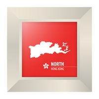 Map of north hong kong